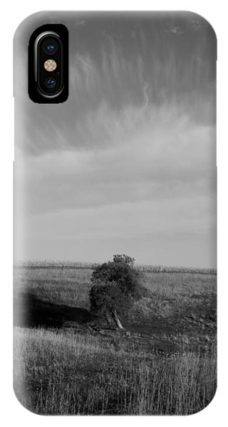 Lonely In The Field Phone Case by Robert Geier