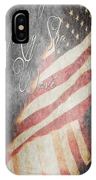 Long May She Wave IPhone Case