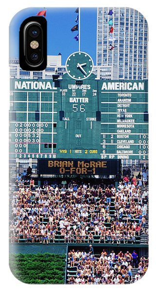 Long View Of Scoreboard And Full IPhone Case