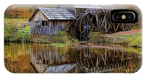 IPhone Case featuring the photograph Mabry Mill by Ola Allen