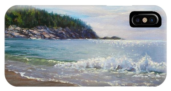 Maine Morning IPhone Case