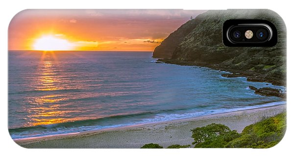 Makapuu Sunrise 1 IPhone Case