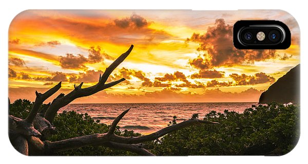 Makapuu Sunrise 4 IPhone Case