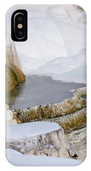 Mammoth Terraces IPhone Case