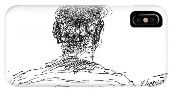Man Head IPhone Case