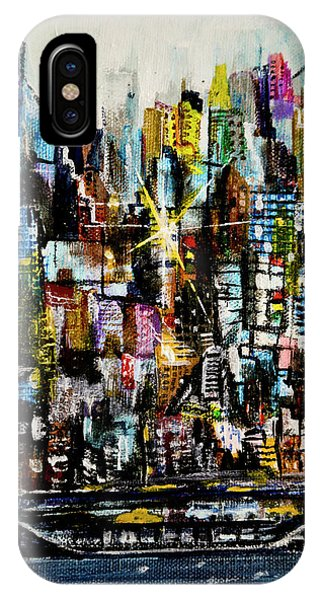 Manhattan Morning IPhone Case