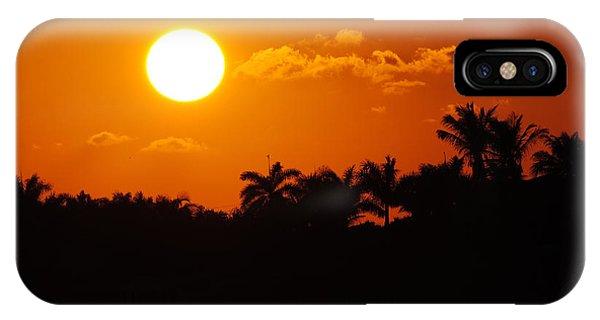 Marco Island Sunset IPhone Case