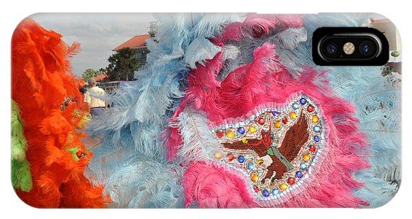 Mardi Gras Indians IPhone Case