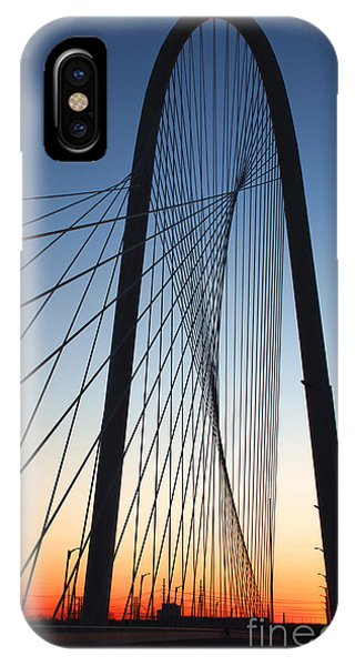 Margaret Hunt Hill Bridge IPhone Case