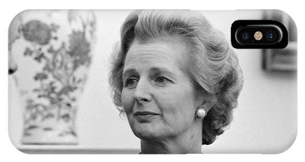 Margaret Thatcher (1925-2013) IPhone Case