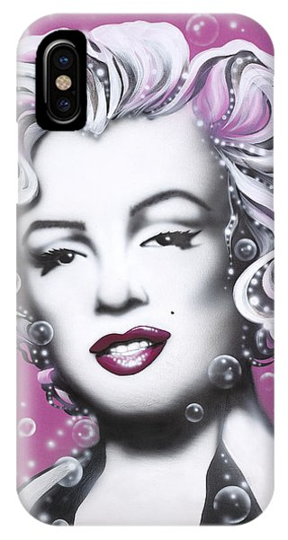 Leading Actress iPhone Case - Marilyn Monroe by Alicia Hayes