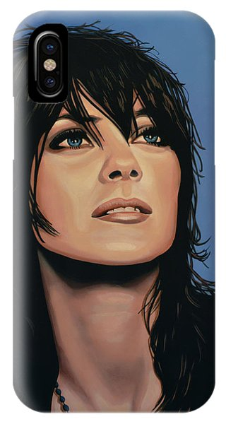 Knight iPhone Case - Marion Cotillard by Paul Meijering