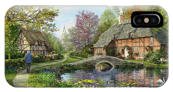 Meadow Cottage IPhone Case