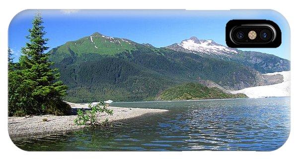 Mendenhall Glacier IPhone Case