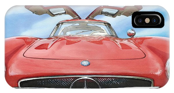 Mercedes Gullwing IPhone Case