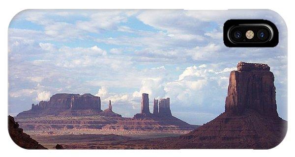 Monument Valley Phone Case by Pamela Schreckengost