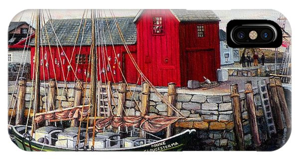 Motif # 1, Rockport, Ma IPhone Case