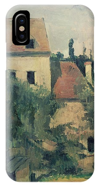 House iPhone Case - Moulin De La Couleuvre At Pontoise by Paul Cezanne