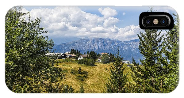 Mountain Panorama. Italy IPhone Case