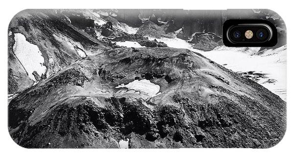 Mt St. Helen's Crater IPhone Case