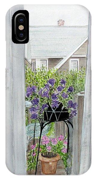 Nantucket Room View IPhone Case