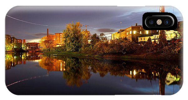 Nashua New Hampshire Phone Case by Denis Tangney Jr