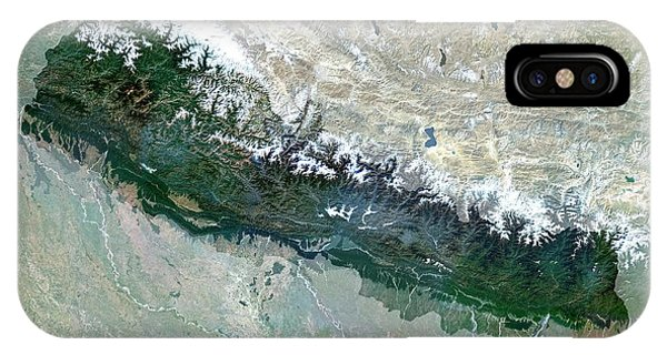 Nepal Phone Case by Planetobserver/science Photo Library