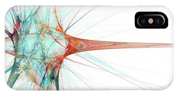 Nerves iPhone Case - Nerve Cell by Laguna Design