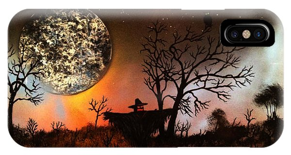 Night Of The Scarecrow  IPhone Case
