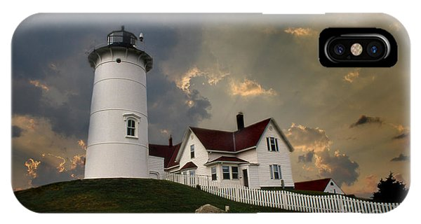 Nobska Lighthouse Color  IPhone Case