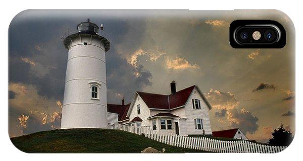 Nobska Lighthouse Color  IPhone Case