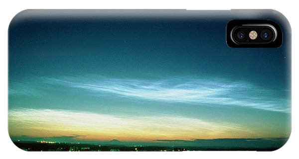 Noctilucent Clouds Phone Case by Pekka Parviainen/science Photo Library