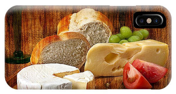 Norwegian Jarlsberg And Camembert IPhone Case