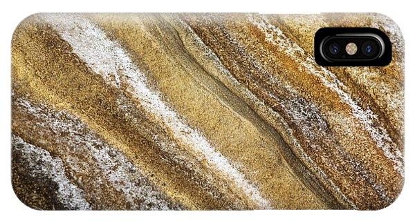 Ocean Cliff Textures 3 IPhone Case