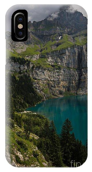 Oeschinensee - Swiss Alps - Switzerland IPhone Case