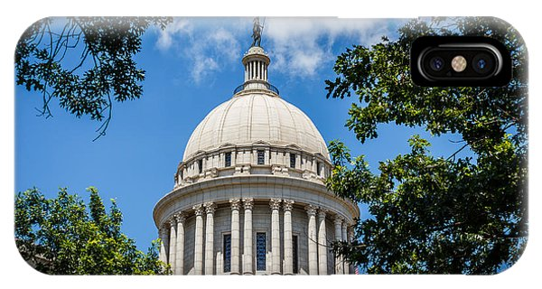 Oklahoma State Capital Dome IPhone Case