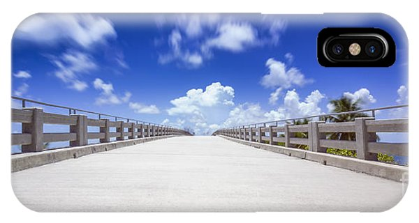 Old Bahia Honda Bridge Florida Keys IPhone Case