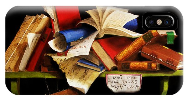 Old Books For Sale IPhone Case
