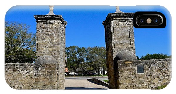 Old City Gates Of St. Augustine IPhone Case