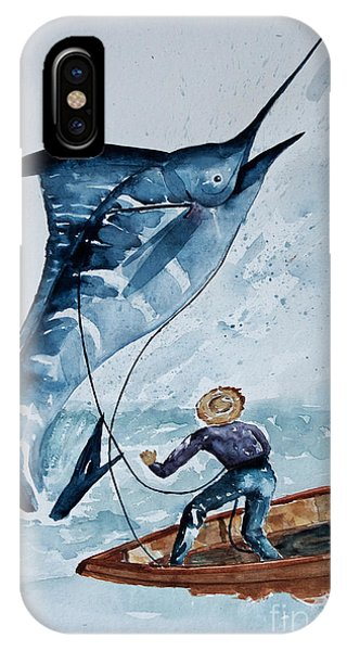 Old Man And The Sea IPhone Case