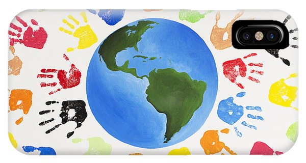 One World IPhone Case