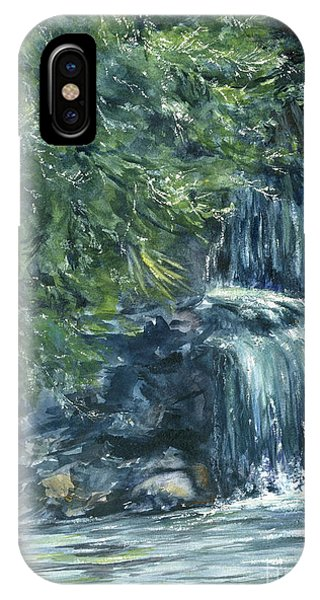 Oregon Waterfall IPhone Case