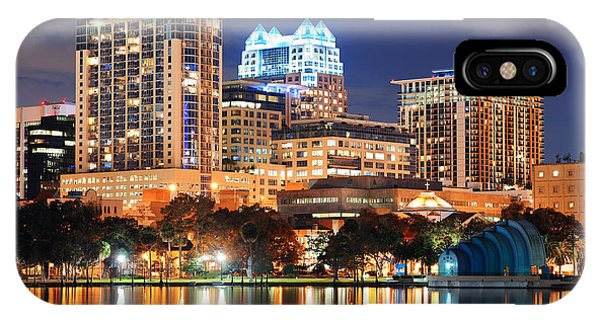 Orlando Downtown Architecture IPhone Case