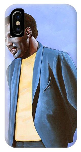 King iPhone Case - Otis Redding Painting by Paul Meijering
