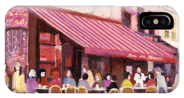 Paris Cafe Bar IPhone Case