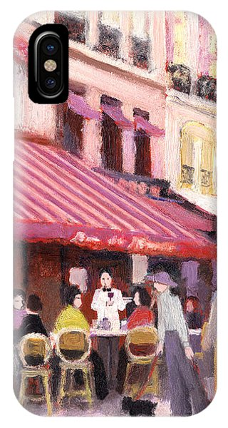 Paris Cafe Bar IPhone Case