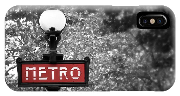 Paris Metro iPhone Case - Paris Metro by Elena Elisseeva
