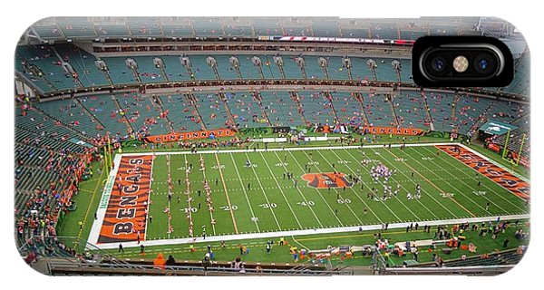 Running Back iPhone Case - Paul Brown Stadium by Dan Sproul