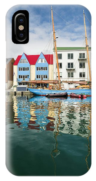 Archipelago iPhone Case - Peninsula Tinganes With Old Town by Martin Zwick