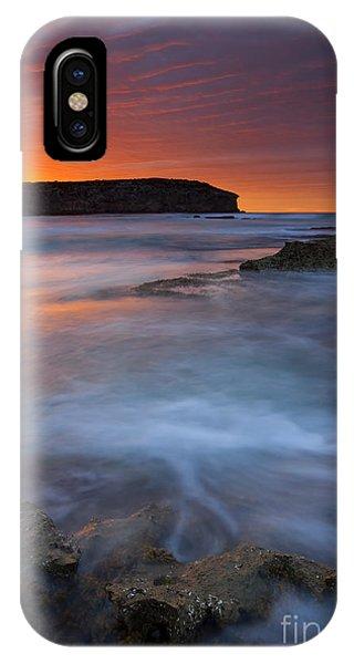 Kangaroo iPhone Case - Pennington Dawn by Mike  Dawson